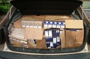 Vilniaus apskrityje sulaikyta kontrabandines prekes pardavinėjusi grupė