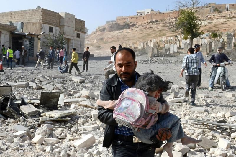 Per antskrydį netoli Damasko žuvo šeši vaikai