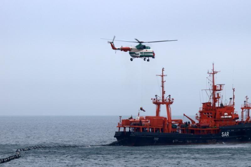 Jūroje vyko žmogaus gelbėjimo operacija