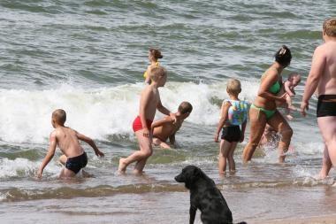Mažamečiai nuotykių prie jūros ieško be tėvų žinios