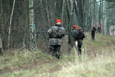 Po medžioklės medžiotojas namo grįžo be šautuvo