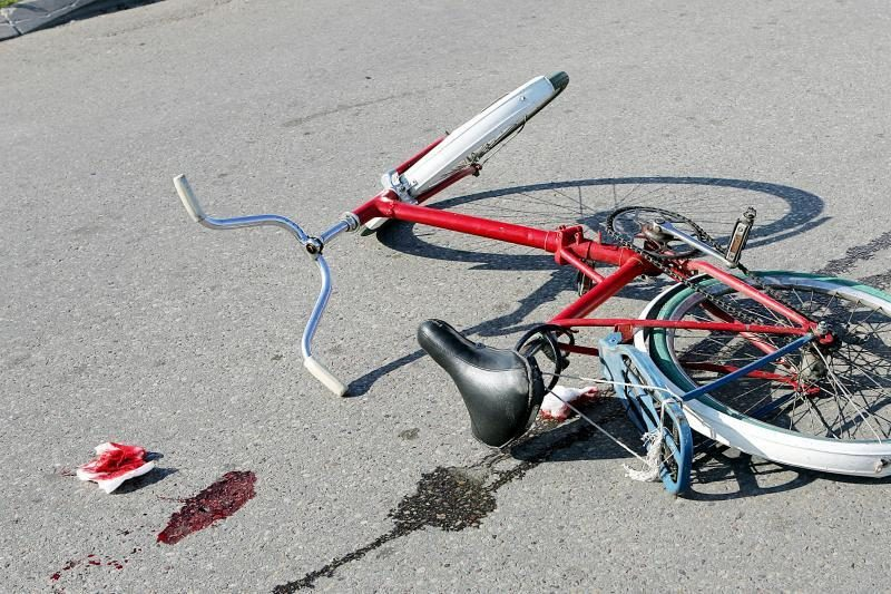 Kupiškyje sužalotas vienuolikmetis dviratininkas