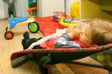 Vaikų darželiuose mažėja, bet neaišku, ar dėl gripo