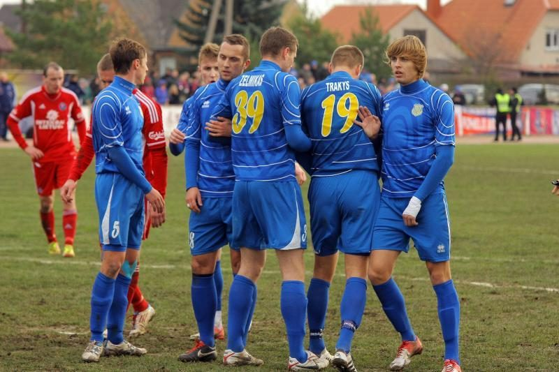 Lietuvos futbolo fenomenas: mažo miestelio klubas virkdė ir favoritus