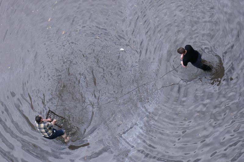 Žaibiški potvyniai Rusijoje nusinešė mažiausiai 100 gyvybių