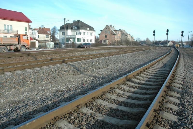 Tobulinamas Klaipėdos geležinkelio mazgas