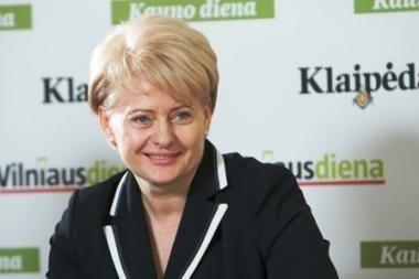 D.Grybauskaitė dalyvaus Jūros šventėje (papildyta)