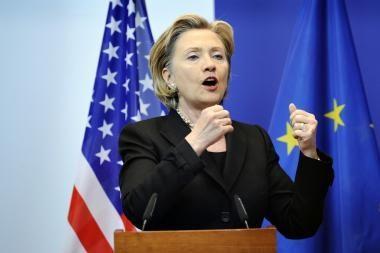 Iranas tampa karine diktatūra, sako H.Clinton