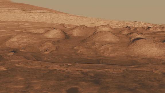 Mokslininkai: kodėl Marsas raudonos spalvos?