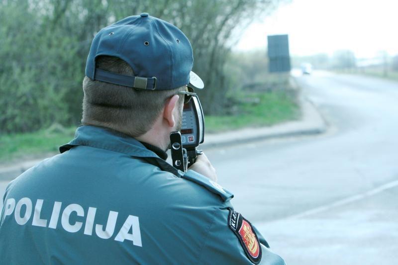 """Per mėnesį kelyje """"Via Baltica"""" – beveik tūkstantis pažeidimų"""