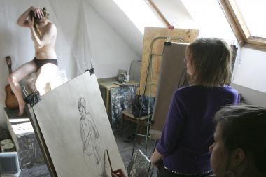 Kaune neliks tapybos studijų?