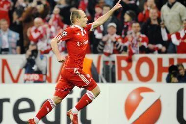 """""""Bayern"""" persvara prieš """"Olympique"""" - vienas įvartis"""