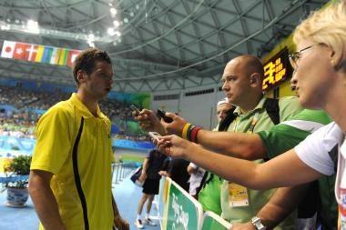 K.Navickas - badmintono turnyro Prancūzijoje aštuntfinalyje