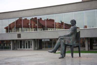 Juozo Miltinio dramos teatras mini 70-metį