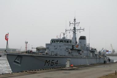 Klaipėdoje prisišvartavo antrasis laivas, įsigytas iš britų