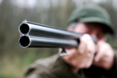 Medžioklės metu sužalotas žmogus