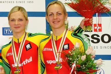 G.Gaivenytei ir S.Krupeckaitei - pasaulio čempionato bronza
