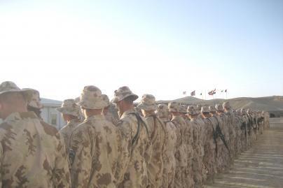 Į misiją Afganistane išlydima papildoma karių grupė