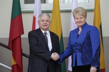 D. Grybauskaitė dalyvaus Lenkijos prezidento laidotuvėse