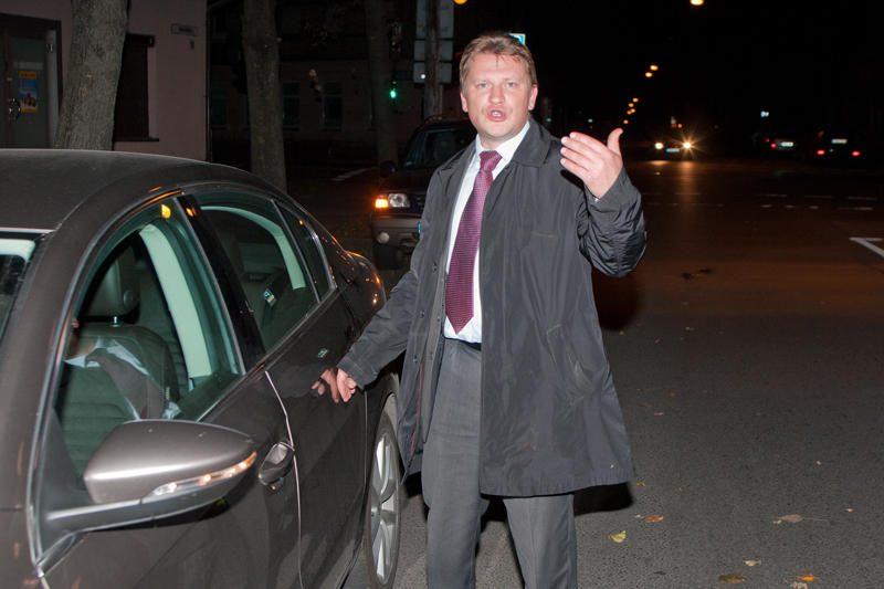 Baltarusijos ambasada atsisako komentuoti avariją Vilniuje
