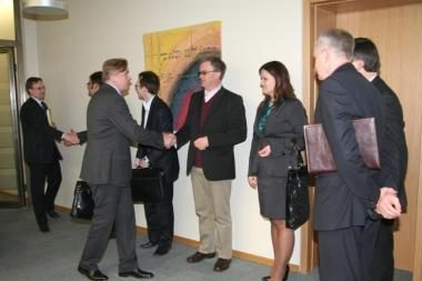 Vilniuje akademinei bendruomenei pristatyti užsienio politikos prioritetai