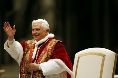 Popiežius pasveikino ir lietuvius (video)