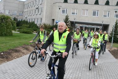 Klaipėdos medikai Širdies dieną paminės ant dviračių