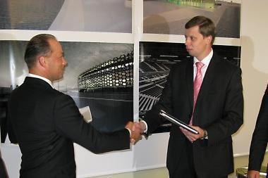 Pasirašyta sutartis dėl arenos statybos (papildyta)