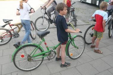 """""""Vaikų kūrybos festivalyje"""" sostinėje - dviračių paradas"""