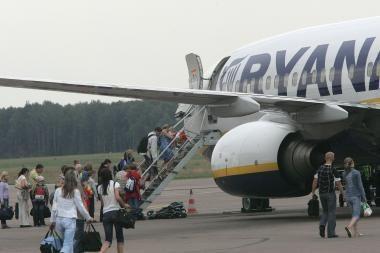 Sprendžiama, ar Lietuvoje reikia riboti skrydžius