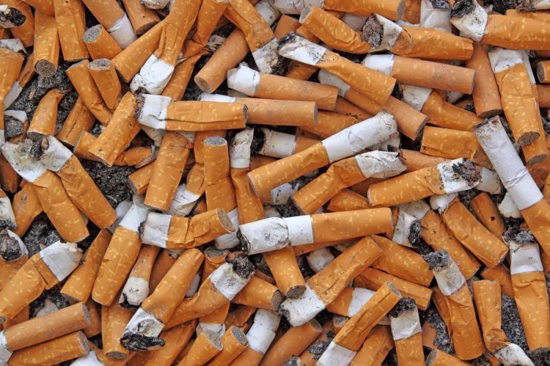 Kontrabandininkai nespėjo pasiimti į Lietuvą permestų cigarečių