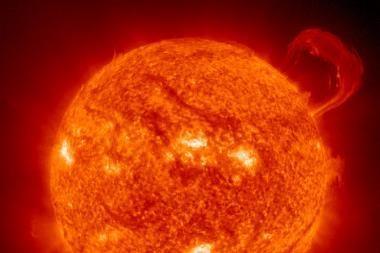 Ar gali saulės dėmės turėti įtakos rinkų aktyvumui?