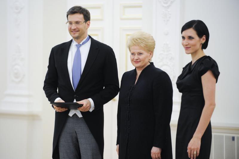 Prezidentūroje įteiktos Nacionalinės kultūros ir meno premijos