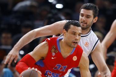 CSKA Eurolygos mažajame finale serbų ekipą palaužė po pratęsimo