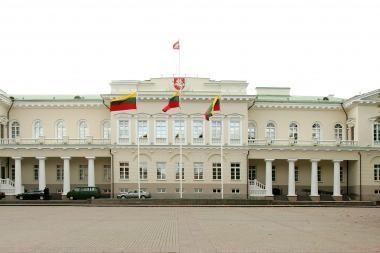 Vilniuje neblaivus vyriškis apšlapino Prezidentūrą