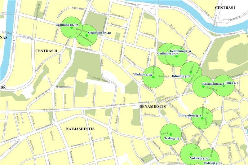 Vilniaus senamiestyje - 12 naujų nemokamo interneto vietų