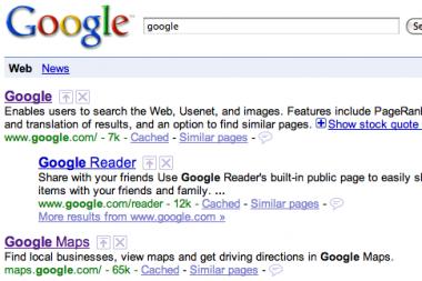 """""""Google"""" leido redaguoti paieškos rezultatus"""