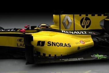 """Bankas """"Snoras"""" tapo """"Formulės-1"""" komandos rėmėju"""