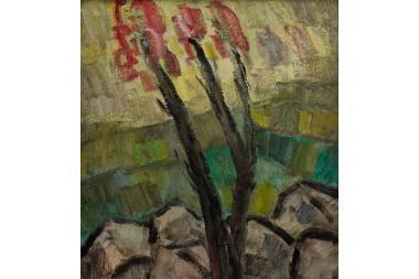 Paskutiniai A.Petrulio paveikslai – Baroti galerijoje