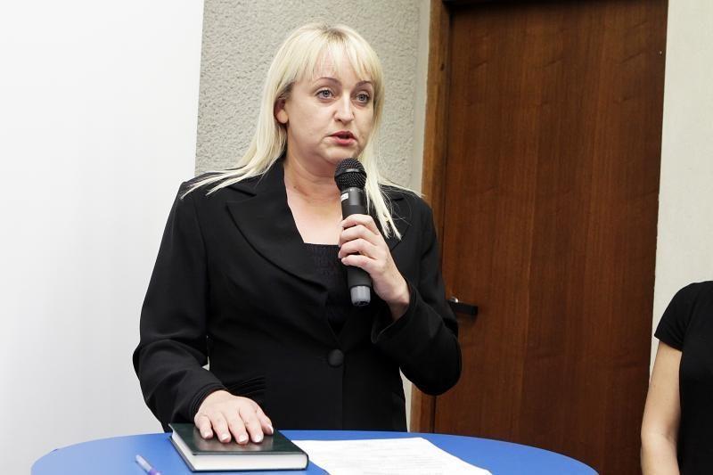 Gimtadienio dovana – Klaipėdos miesto tarybos narės mandatas
