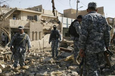 Irake – mirtinas savižudžių išpuolis