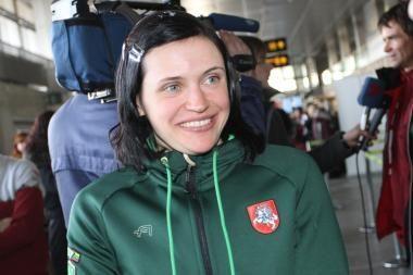Lietuvė iškovojo antrąjį Europos biatlono pirmenybių medalį