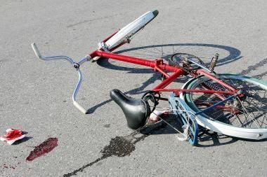 Už pastabą vairuotojui dviratininkas sulaukė smūgių