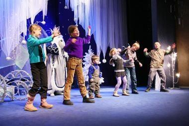 Daugiavaikių šeimų vaikams dovana - spektaklis