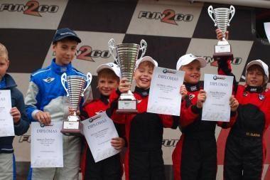 BMW Formulės Mini čempionu tapo Markas Bukinas