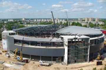Panevėžyje statoma moderni sporto arena (atnaujinta)