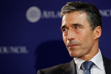 A.F.Rasmussenas: Rusija ir NATO nekelia grėsmės viena kitai