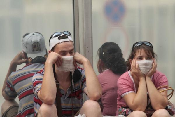 Maskvos gyventojai miršta dūmuose ir bėga iš sostinės