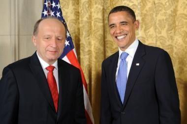 A.Kubilius ir kiti regiono lyderiai Prahoje susitiko su B.Obama