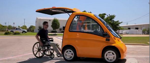 Pristatyta naujos kartos transporto priemonė neįgaliesiems